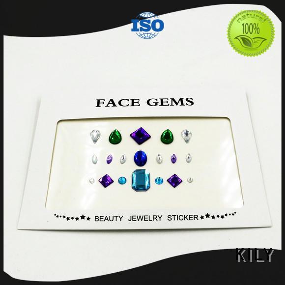 diy nail art stickers face KILY company