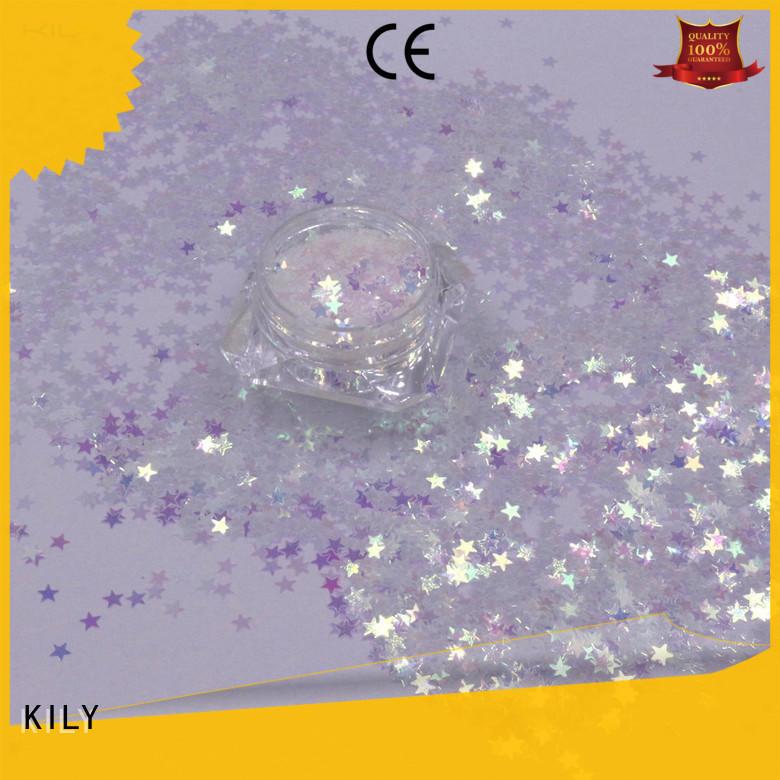 KILY body shaped glitter manufacturer for music festival