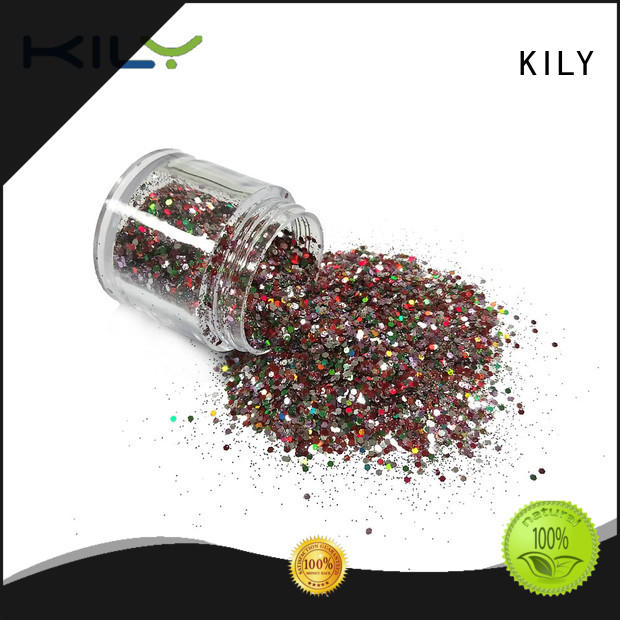 KILY safety face and body glitter for fashion show