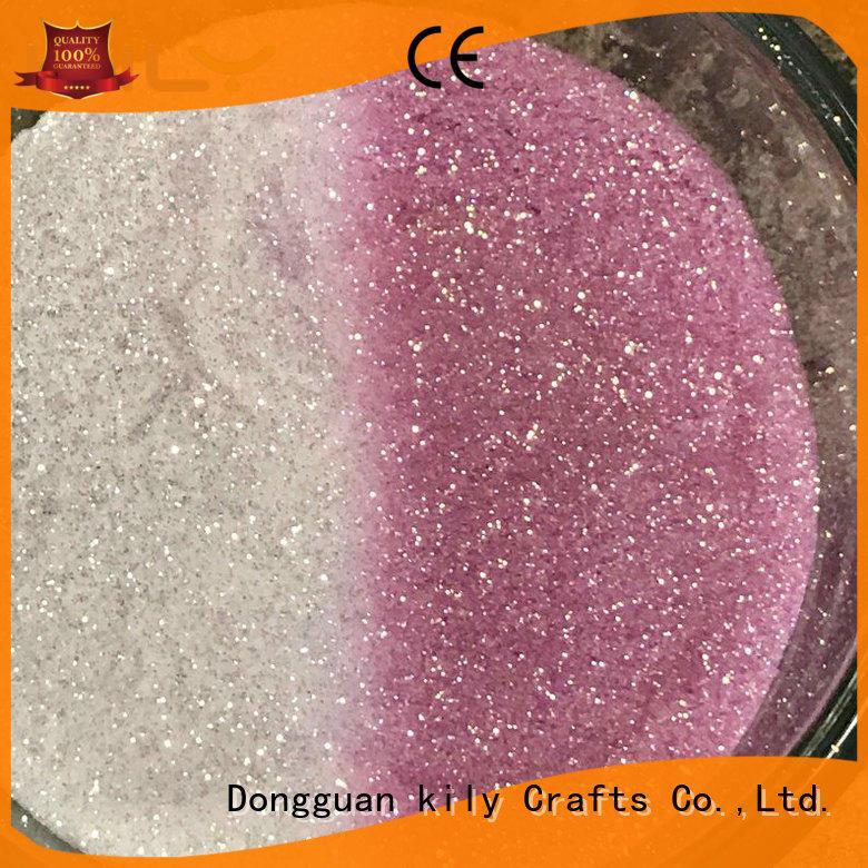 high quality uv glitter manufacturer for garment