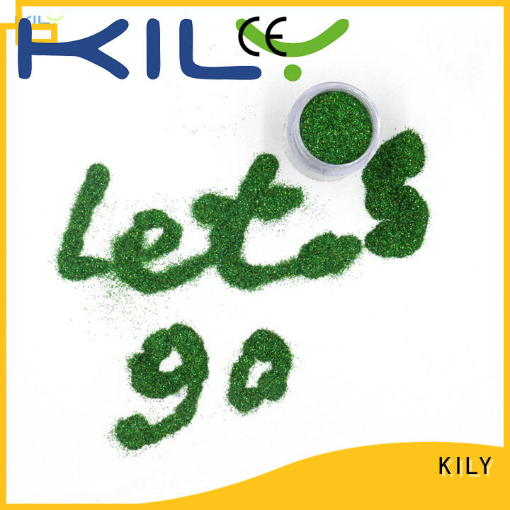 KILY professional holographic craft glitter manufacturer for sport meeting