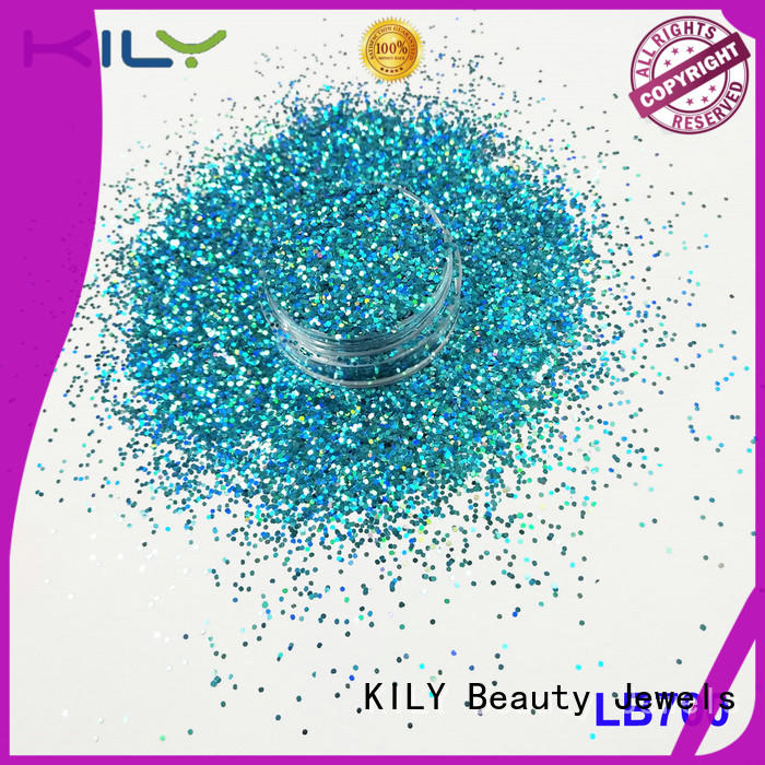 Holographic Glitter rose for carnival KILY
