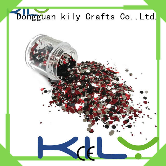 KILY chunky glitter supplier for party