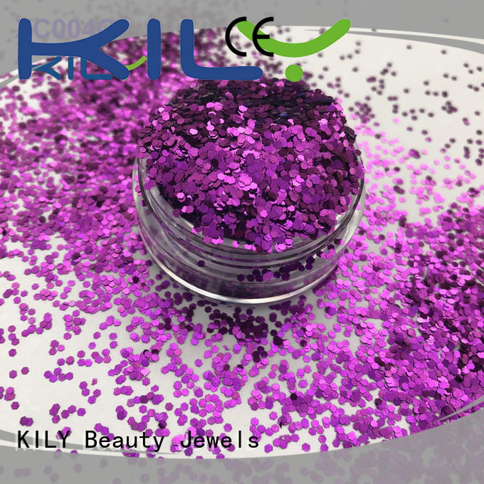 KILY cosmetic eye glitter series for party