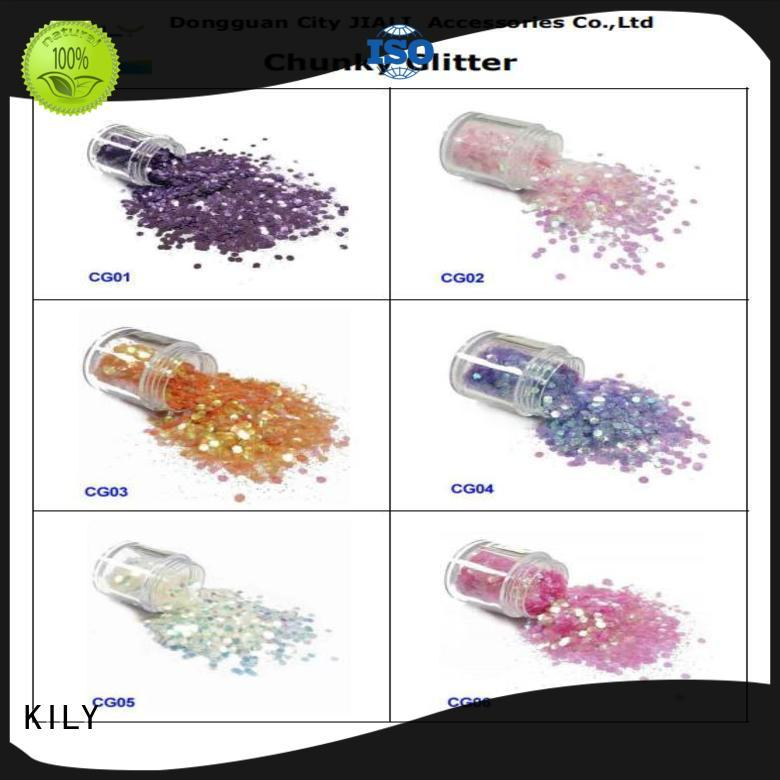 eco-friendly glitter eyes and lips iridescent easy to apply for handicrafts