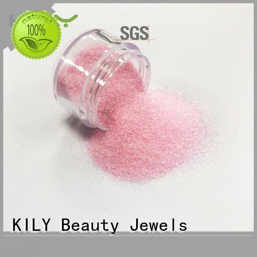 KILY iridescent glitter supplier for fashion show