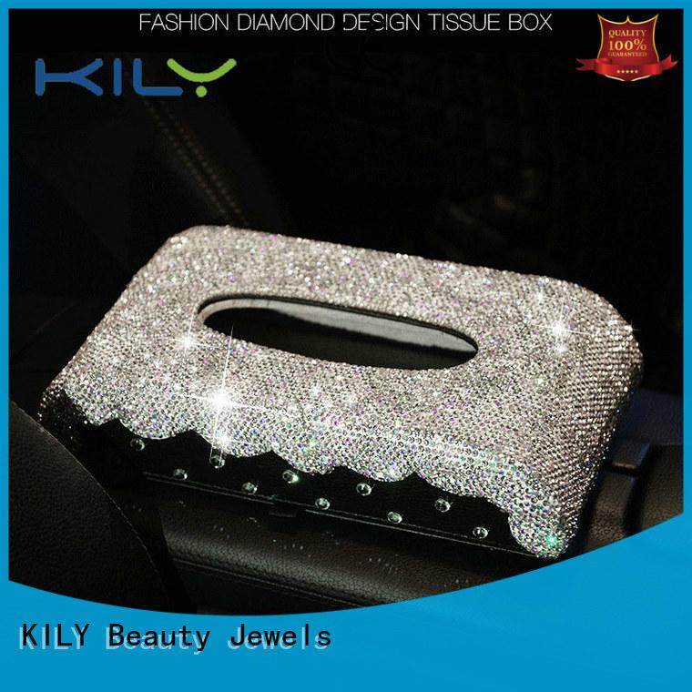 KILY professional tissue box wholesale for music festival