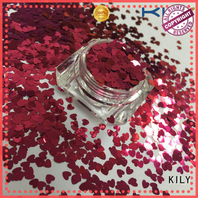 KILY professional shaped glitter series for music festival