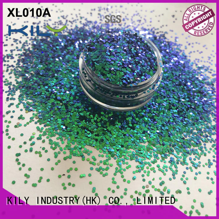 KILY safety cosmetic glitter series for carnival