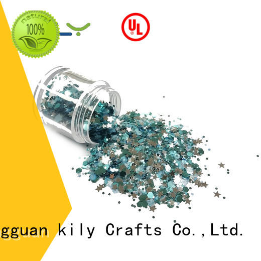 KILY safety chunky glitter manufacturer for fashion show