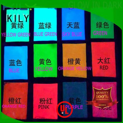 KILY online glow in dark glitter easy to apply for garment