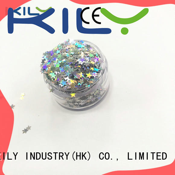 KILY festival cosmetic shaped glitter wholesale for sport meeting