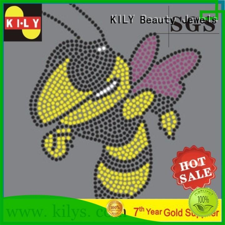 KILY hot fix motif wholesale for Halloween