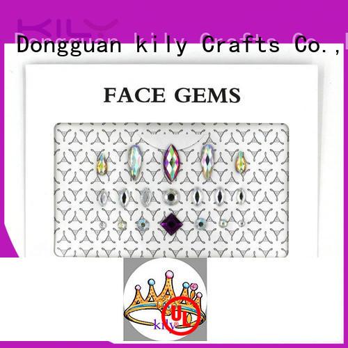 Hot gems diy face gems small decoration KILY Brand