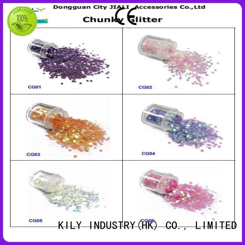 KILY metallic glitter store for silk flowers