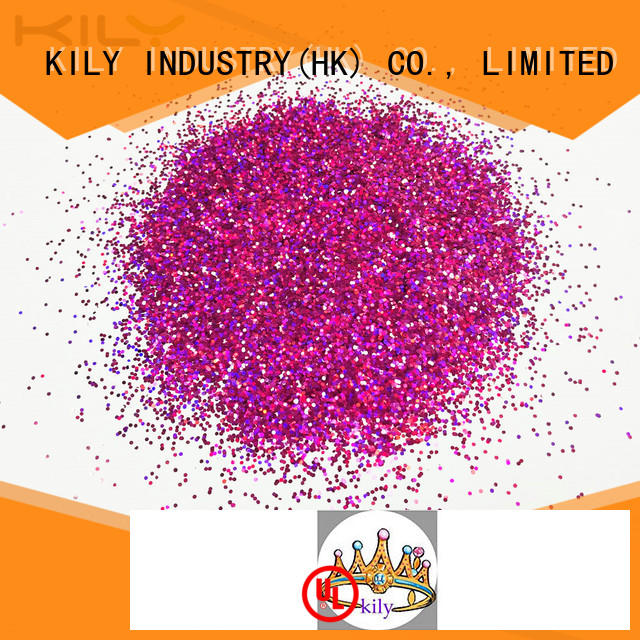 KILY professional holographic craft glitter series for party
