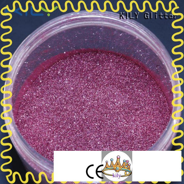 KILY christmas glitter maker manufacturer for sport meeting