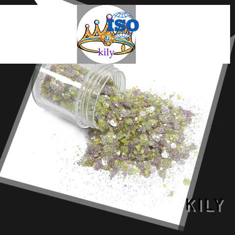 KILY safety bulk glitter wholesale for Christmas