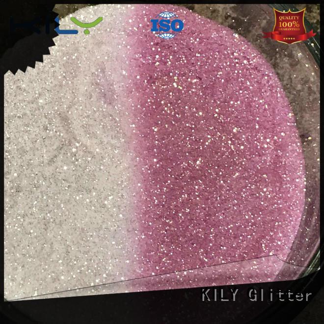 KILY eco-friendly glitter uv nail polish easy to apply for shoes