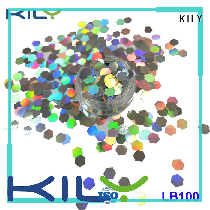 KILY professional holographic glitter manufacturer for carnival