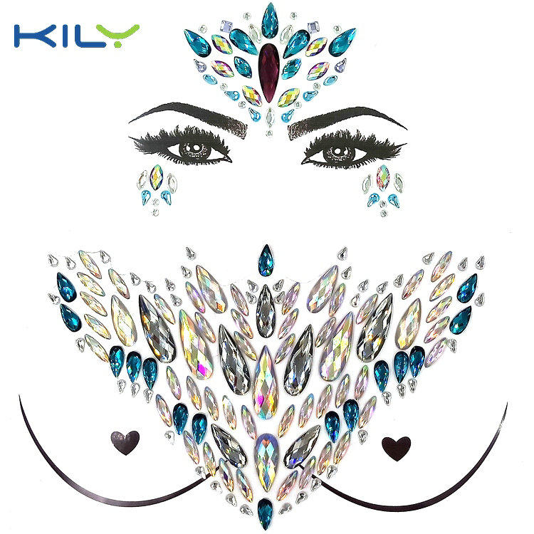 KILY safety gem tattoo series for music festival-1