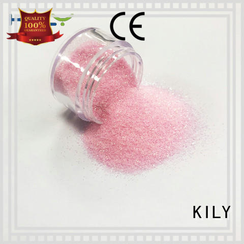 KILY iridescent glitter supplier for music festival