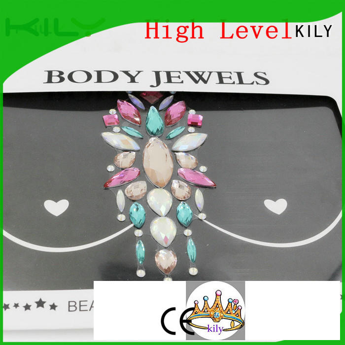 hot sale sticker body jewels supplier for beach