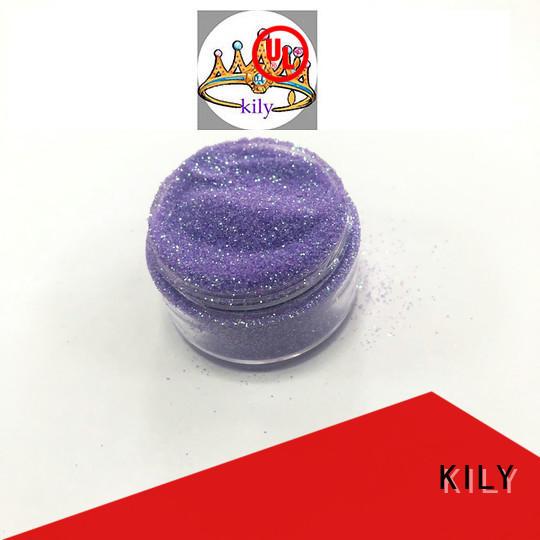 KILY iridescent glitter manufacturer for music festival