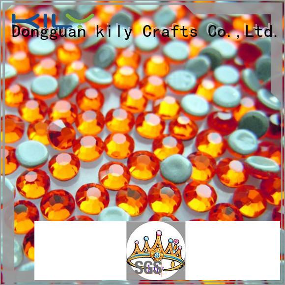 hot Fix rhinestone supplier for carnival KILY