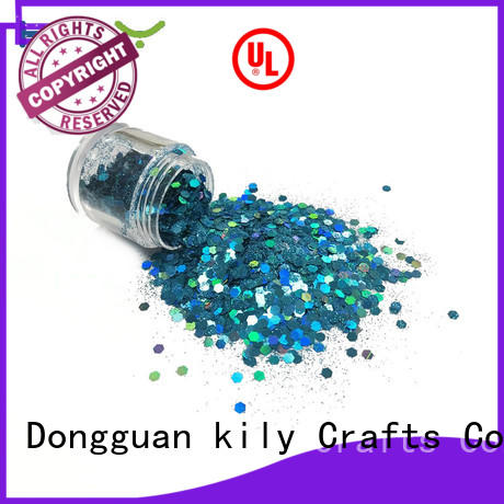 KILY non-toxic craft glitter manufacturer for beach