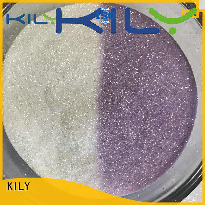 KILY uv glitter manufacturer for garment