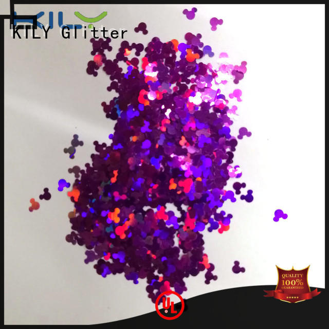 professional different shaped glitter lb7051 series for fashion show