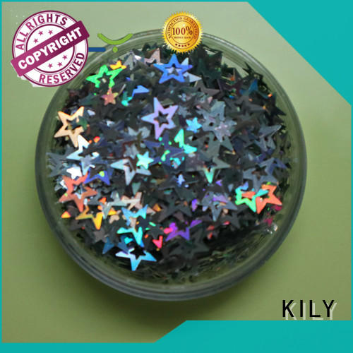 KILY professional different shaped glitter wholesale for party