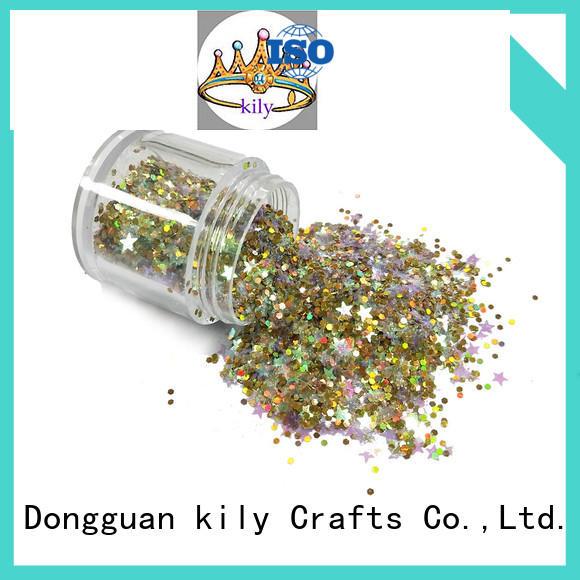 KILY fine glitter supplier for sport meeting