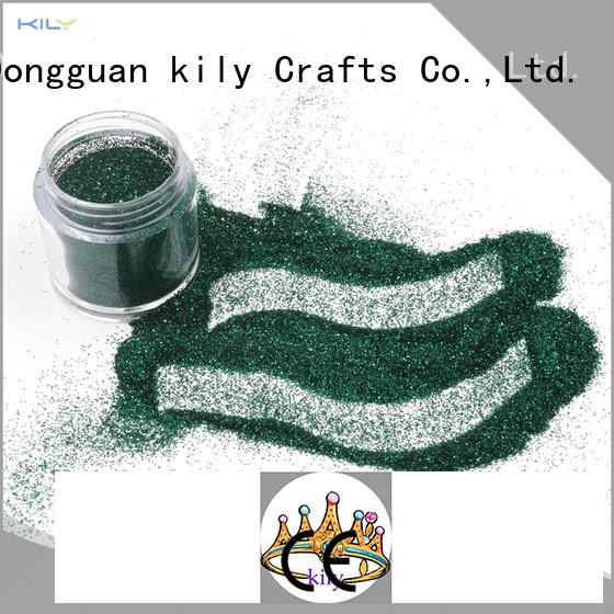 KILY eco-friendly fine glitter manufacturer for screen printing