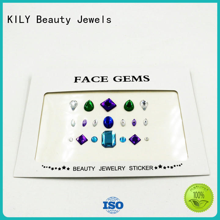 KILY non-toxic craft gems wholesale for music festival