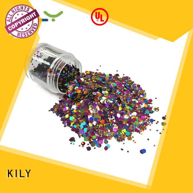 KILY craft glitter manufacturer for carnival