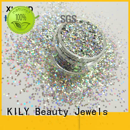 safety cosmetic shifting glitter series for sport meeting KILY