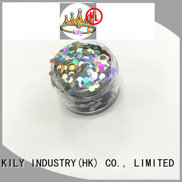 KILY shadow different shaped glitter series for party
