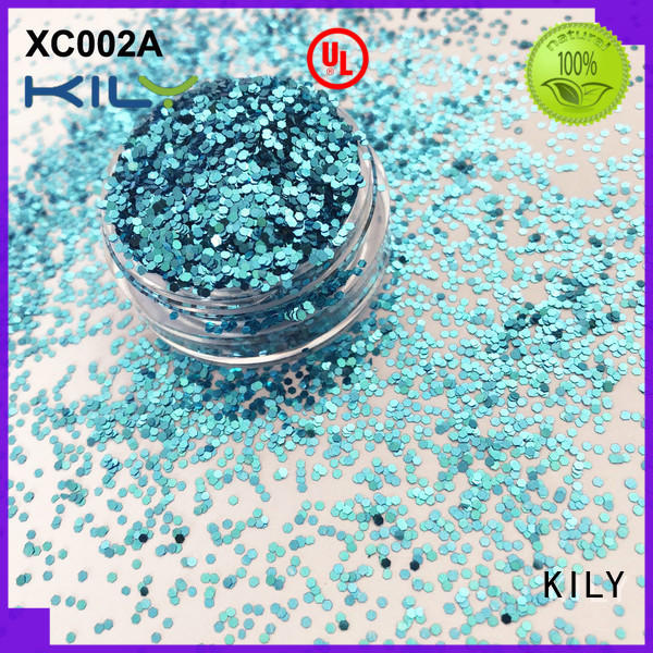 KILY professional cosmetic glitter series for sport meeting