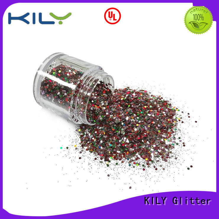 KILY non-toxic mixed glitter wholesale for party