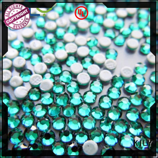 KILY hot Fix rhinestone manufacturer for carnival