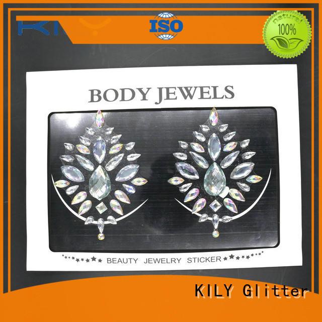 online body gems rhinestone series for fashion show
