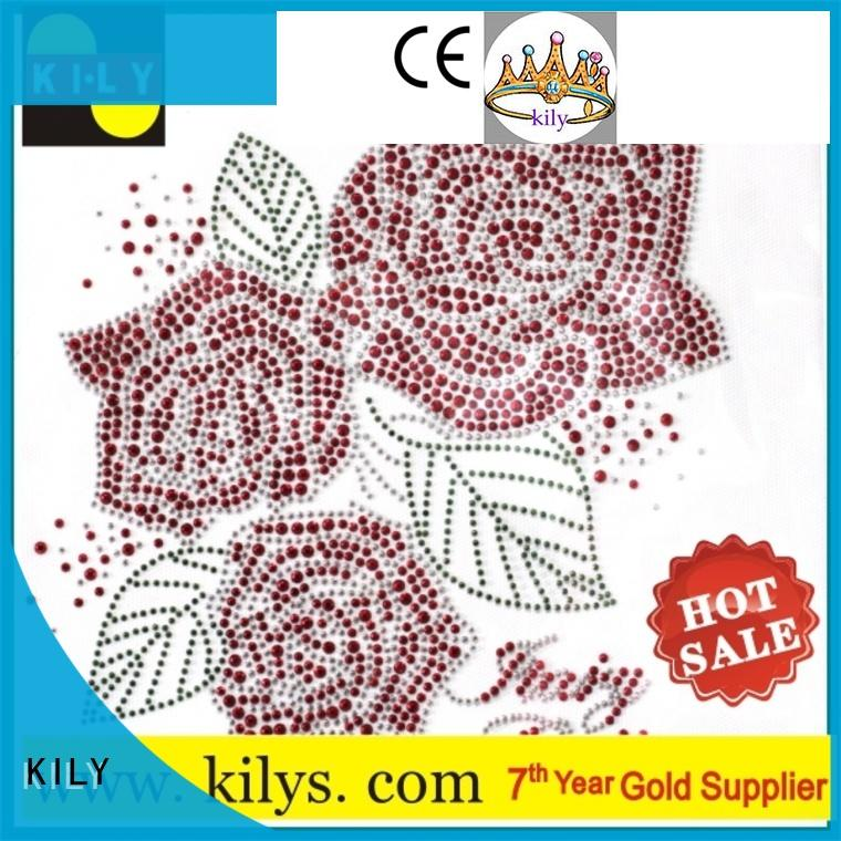 safety hot fix motif supplier for fashion show