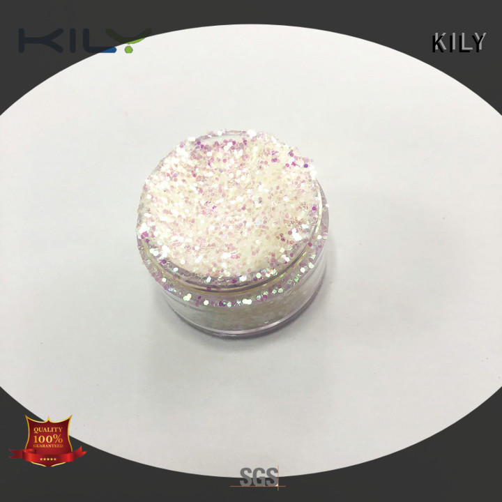 KILY safety iIridescent glitter series for music festival