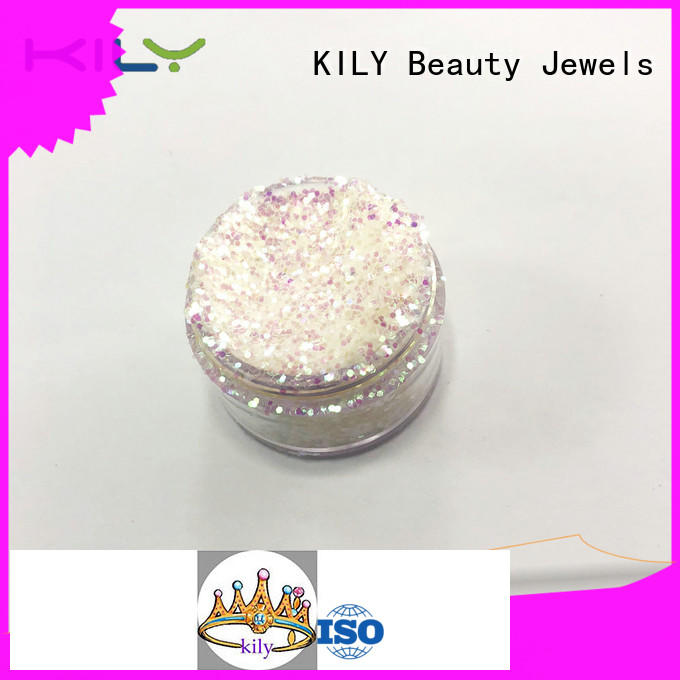 KILY safety iridescent glitter series for party
