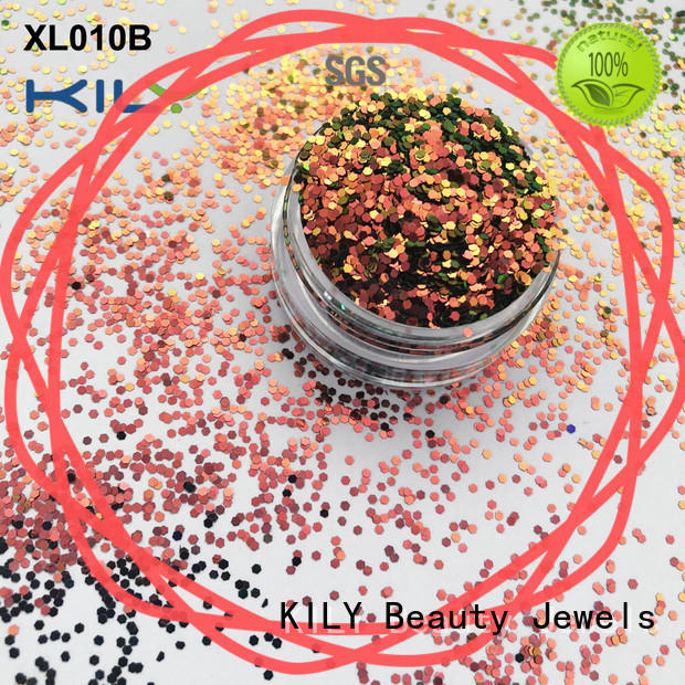 KILY safety cosmetic eye glitter for party