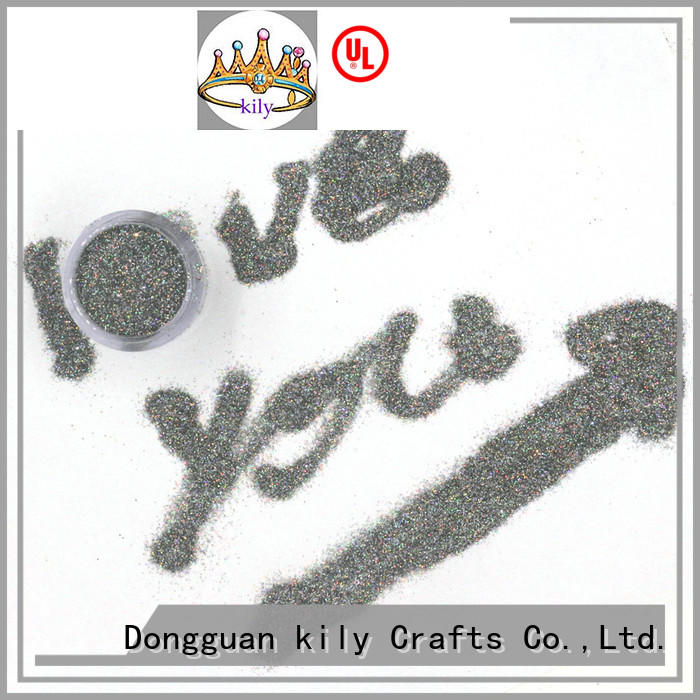 KILY professional holographic glitter supplier for beach