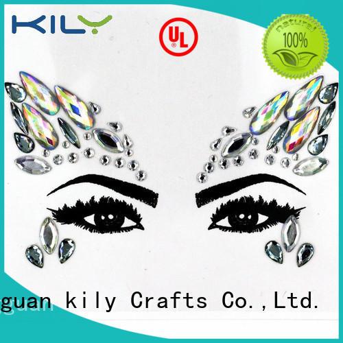 KILY professional eye jewels makeup for Christmas