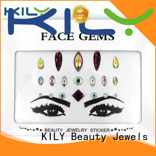 halloween jewel stickers series for carnival KILY